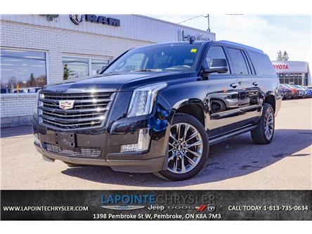 2020 Cadillac Escalade ESV Platinum (Stk: P3663) in Pembroke - Image 1 of 30