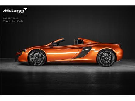 2016 McLaren 650S Spider (Stk: SE001) in Woodbridge - Image 1 of 22