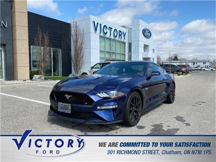 2019 Ford Mustang  (Stk: V9813) in Chatham - Image 1 of 16
