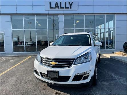 2016 Chevrolet Traverse AWD | 7 Passenger | True North Package | Rem Start (Stk: R00569) in Tilbury - Image 1 of 26