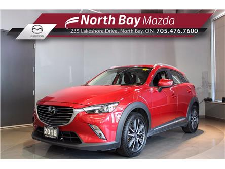 2018 Mazda CX-3 GT (Stk: 21106A) in North Bay - Image 1 of 31