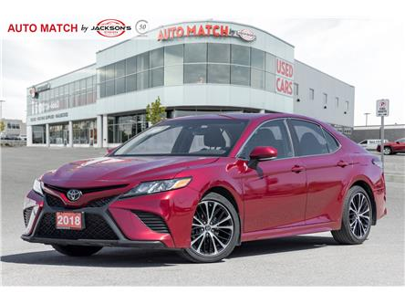 2018 Toyota Camry SE (Stk: U8961A) in Barrie - Image 1 of 21