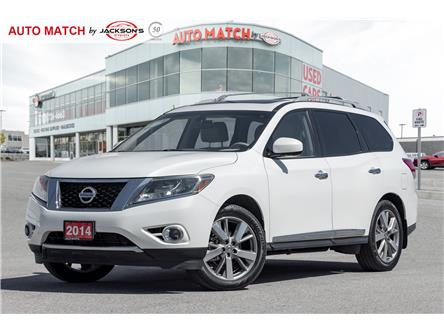 2014 Nissan Pathfinder Platinum (Stk: U2716) in Barrie - Image 1 of 25