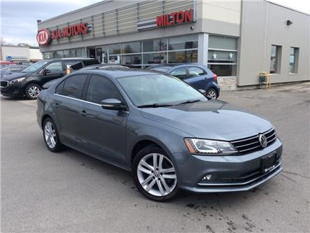 2017 Volkswagen Jetta 1.8 TSI Highline (Stk: 024839A) in Milton - Image 1 of 13