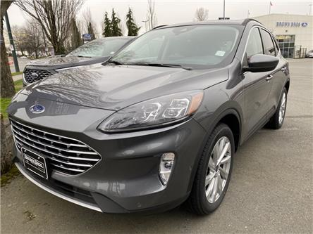 2021 Ford Escape Titanium Hybrid (Stk: 216815) in Vancouver - Image 1 of 10