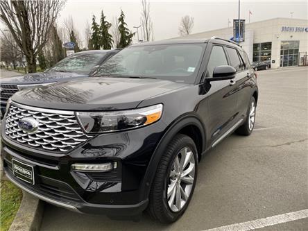 2021 Ford Explorer Platinum (Stk: 216135) in Vancouver - Image 1 of 9