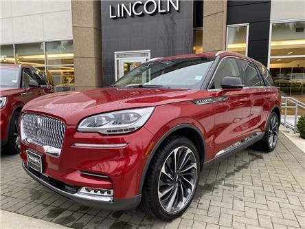 2021 Lincoln Aviator Reserve (Stk: 216385) in Vancouver - Image 1 of 7