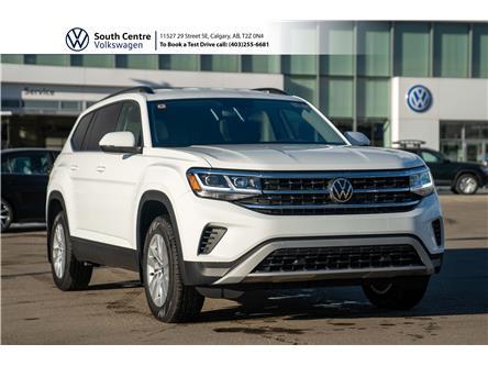 2021 Volkswagen Atlas 2.0 TSI Trendline (Stk: 10027) in Calgary - Image 1 of 42
