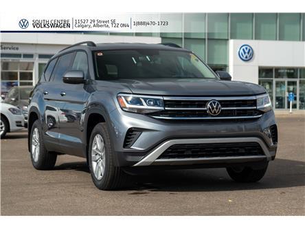 2021 Volkswagen Atlas 2.0 TSI Trendline (Stk: 10038) in Calgary - Image 1 of 38