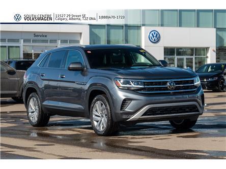 2020 Volkswagen Atlas Cross Sport 3.6 FSI Execline (Stk: 00217) in Calgary - Image 1 of 45