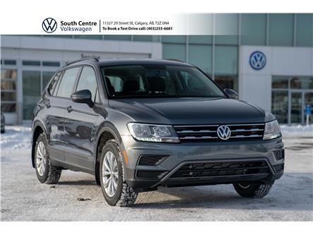 2021 Volkswagen Tiguan Trendline (Stk: 10112) in Calgary - Image 1 of 38