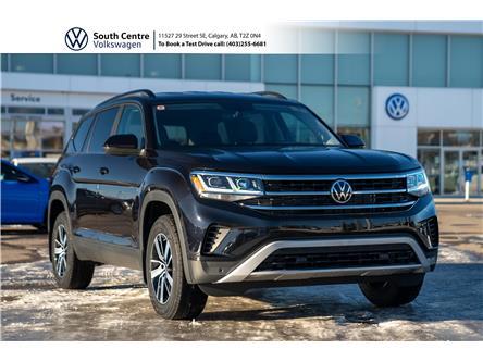 2021 Volkswagen Atlas 3.6 FSI Comfortline (Stk: 10115) in Calgary - Image 1 of 45