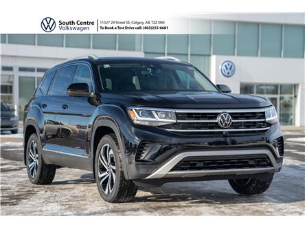 2021 Volkswagen Atlas 3.6 FSI Execline (Stk: 10122) in Calgary - Image 1 of 47