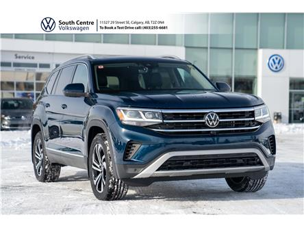 2021 Volkswagen Atlas 3.6 FSI Execline (Stk: 10123) in Calgary - Image 1 of 46