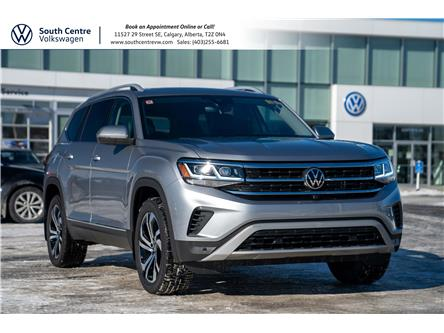 2021 Volkswagen Atlas 3.6 FSI Execline (Stk: 10166) in Calgary - Image 1 of 46