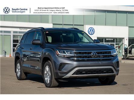 2021 Volkswagen Atlas 2.0 TSI Trendline (Stk: 10192) in Calgary - Image 1 of 41