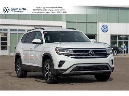 2021 Volkswagen Atlas 2.0 TSI Comfortline (Stk: 10196) in Calgary - Image 1 of 44