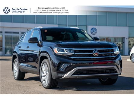 2021 Volkswagen Atlas Cross Sport 3.6 FSI Highline (Stk: 10210) in Calgary - Image 1 of 45
