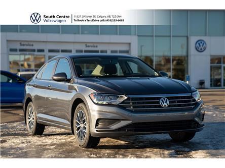 2021 Volkswagen Jetta Comfortline (Stk: 10220) in Calgary - Image 1 of 36