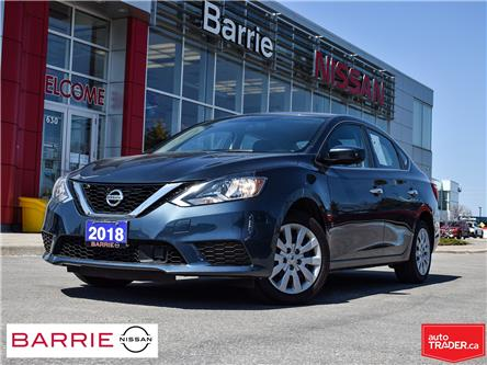 2018 Nissan Sentra 1.8 SV (Stk: P4776) in Barrie - Image 1 of 27