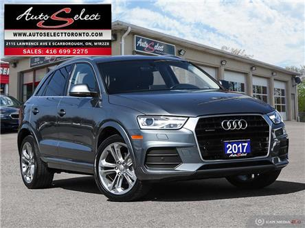 2017 Audi Q3 Quattro (Stk: 1AQ3G61) in Scarborough - Image 1 of 28