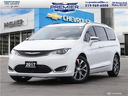 2017 Chrysler Pacifica Limited (Stk: 210031C) in Windsor - Image 1 of 29
