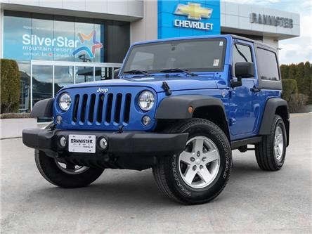 2015 Jeep Wrangler Sport (Stk: 21395A1) in Vernon - Image 1 of 26