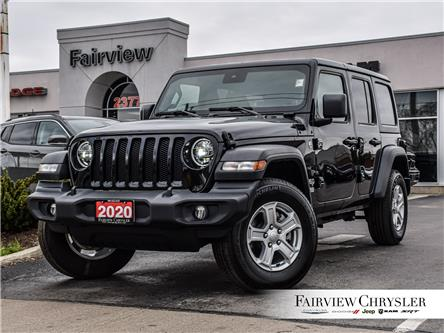 2020 Jeep Wrangler Unlimited Sport (Stk: U18514) in Burlington - Image 1 of 28