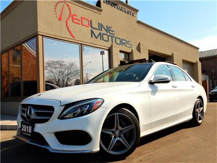 2018 Mercedes-Benz C-Class Base (Stk: 55SWF4) in Kitchener - Image 1 of 23