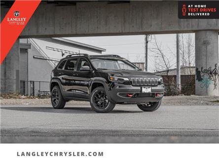2021 Jeep Cherokee Trailhawk (Stk: M203219) in Surrey - Image 1 of 22