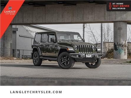 2021 Jeep Wrangler Unlimited Sahara (Stk: M679641) in Surrey - Image 1 of 26