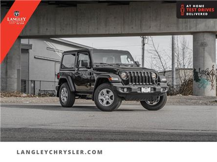 2021 Jeep Wrangler Sport (Stk: M679926) in Surrey - Image 1 of 23