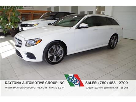 2018 Mercedes-Benz E-Class Base (Stk: 0802) in Edmonton - Image 1 of 24