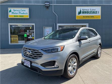 2020 Ford Edge Titanium (Stk: 00848) in Belmont - Image 1 of 29