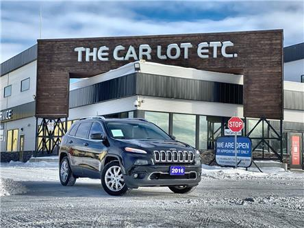 2016 Jeep Cherokee Limited (Stk: 21012) in Sudbury - Image 1 of 28