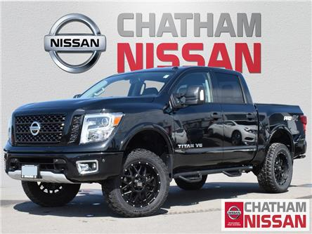 2019 Nissan Titan PRO-4X (Stk: 1N491A) in Chatham - Image 1 of 28