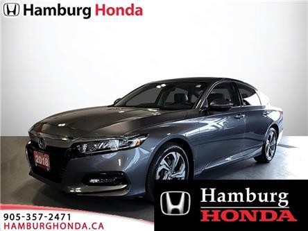 2018 Honda Accord EX-L (Stk: T5923) in Niagara Falls - Image 1 of 17