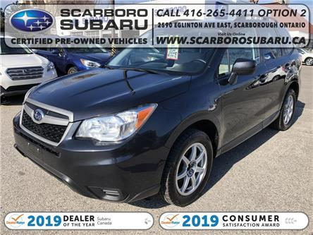 2016 Subaru Forester 2.5i (Stk: GG410091) in Scarborough - Image 1 of 18