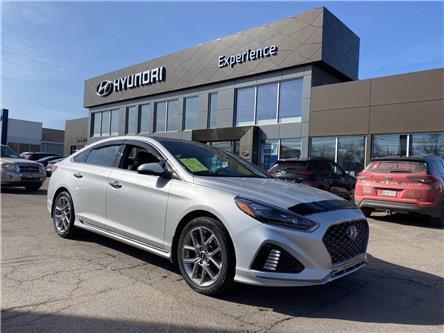 2018 Hyundai Sonata 2.0T Sport (Stk: N1248A) in Charlottetown - Image 1 of 12