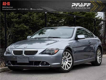 2005 BMW 645 ci (Stk: 39171A) in Markham - Image 1 of 29
