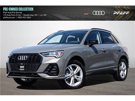 2021 Audi Q3 45 Technik (Stk: C8295) in Woodbridge - Image 1 of 24
