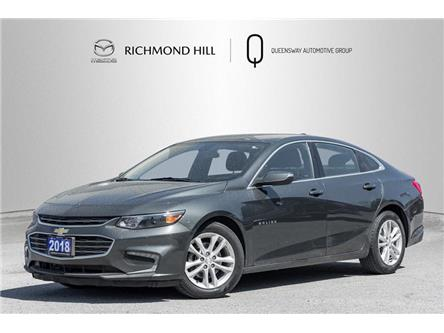 2018 Chevrolet Malibu LT (Stk: 21-300A) in Richmond Hill - Image 1 of 18