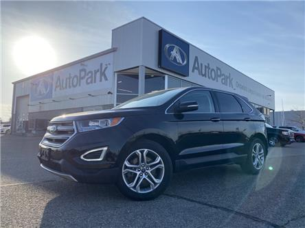 2017 Ford Edge Titanium (Stk: 17-23742JB) in Barrie - Image 1 of 31