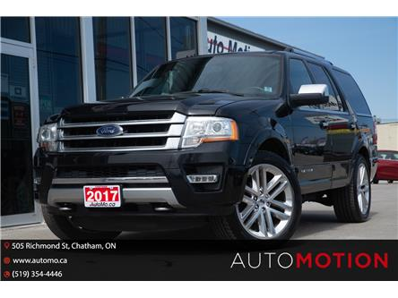 2017 Ford Expedition Platinum (Stk: 21353) in Chatham - Image 1 of 29