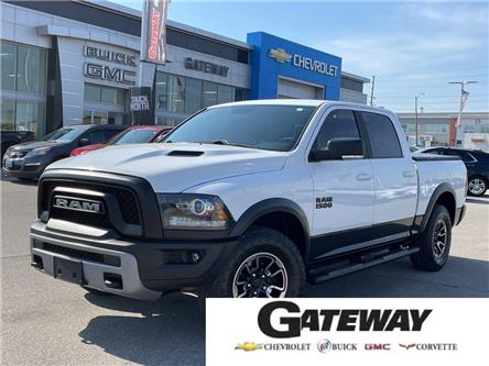 2017 RAM 1500 Rebel**CREW CAB**SUNROOF**AIR SUSPENSION**NAV** (Stk: 180193A) in BRAMPTON - Image 1 of 18