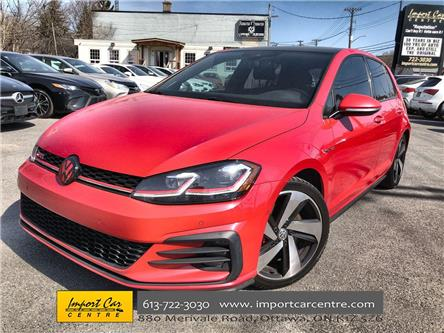 2018 Volkswagen Golf GTI 5-Door Autobahn (Stk: 260261) in Ottawa - Image 1 of 26