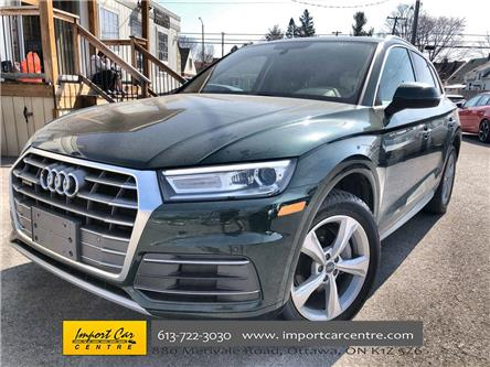 2018 Audi Q5 2.0T Progressiv (Stk: 012666) in Ottawa - Image 1 of 26