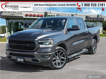 2019 RAM 1500 Sport (Stk: W03007) in Cornwall - Image 1 of 27