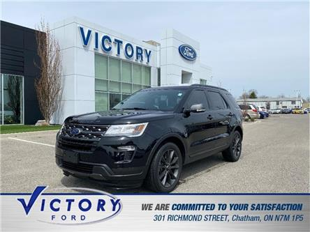 2018 Ford Explorer XLT (Stk: V19986A) in Chatham - Image 1 of 18