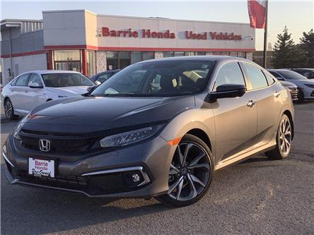 2019 Honda Civic Touring (Stk: U19595) in Barrie - Image 1 of 30